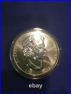 10 oz Silver 2021 Magnificent Maple Leaves Canadian Uncirculated Coin
