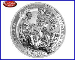 1867- 2017 Canada 10 oz Pure Silver Coin The 1867 Confederation Medal. PRE-SALE