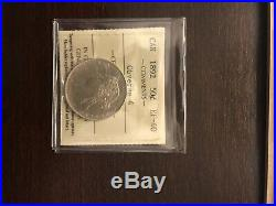 1892 Obv 4 Canada Fifty 50 Cent Silver Coin ICCS EF-40 / No Tax