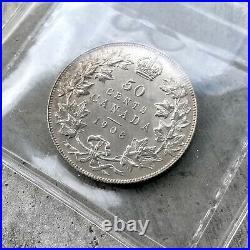 1908 Specimen Canada Silver Half Dollar 50 Cent Coin ICCS SP Gem 65