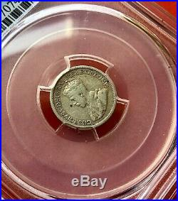 1921 Canada Silver 5 Cent Coin PCGS F15 Prince of Canadian Coins