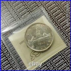 1935 Canada $1 Silver Dollar ICCS MS-66 Very Nice Coin! #coinsofcanada