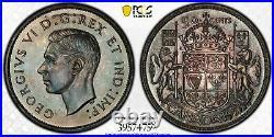 1937 Canada Silver Half Dollar 50 Cent Coin PCGS Mirror Specimen SP-66