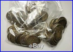 1940 1967 Canada Silver 50 Cents $10.00 Face Value 20 Coins Mixed 80%