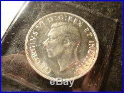 1945 BU AU BU Canada Silver Dollar Bice Coin DDS