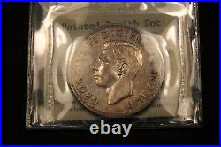 1947 DOT Silver Dollar Canada ICCS EF-45. Looks nicer. Scarce coin