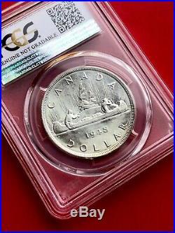1948 Canada 1 Dollar Silver Coin One Dollar Key Date PCGS AU Detail