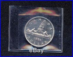 1954 Canada Dollar Coin Cut Off ICCS PL-66 QN 547 (23.33 Grams. 800 Silver)