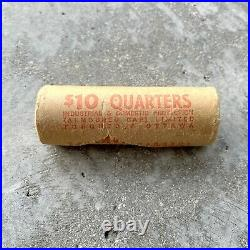 1967 Canada Silver 25 Cent Quarter Coin 40 Pieces Fresh Roll
