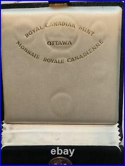 1967 Royal Canadian mint Canada centennial $20 Gold and Silver specimen coin set