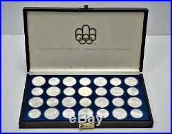 1976 Limited Edition Canadian Sterling Silver Olympic Coin Collection