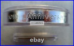 1998 Canada 10 oz $50 10th Anniv Silver Maple Leaf Coin + 925 Certificate In Box