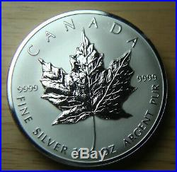 1998 Canada Ten Ounce. 999 Fine Silver Coin 10oz 10th Anniversary
