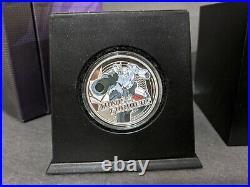 1 oz. Fine Silver 2-Coin Set TRANSFORMERS Mintage 5,000 (2013)