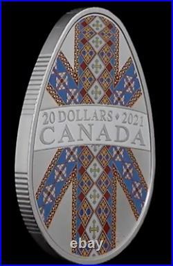 1 oz. Pure Silver Pysanka Coin (2021)