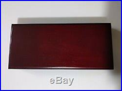 2003 Canada Silver Maple Leaf HOLOGRAM 5 Coin Set Wood Display Case NICE SET