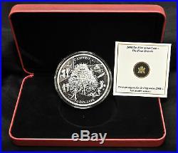 2006 Canada $50 The Four Seasons 5 oz. Fine silver coin