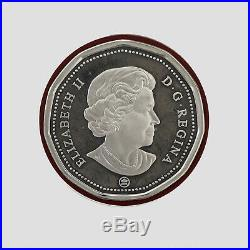 2007 Canada RARE Baby Rattle Silver Gold Coin From Set Loon Dollar Coin