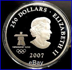 2007 Early Canada Kilo. 9999 Fine Silver Coin $250 Incredible Detail