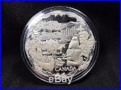 2008 Canada $250 Silver Kilogram Coin Towards Confederation See Photos