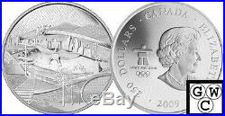 2009 Kilo Silver Coin (Olympics) The Canada of Today. 9999 Fine(NT)(OOAK)(12471)