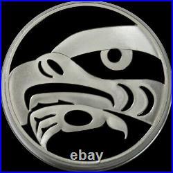 2010 SILVER CANADA PROOF KILO OLYMPICS EAGLE 32.15 oz 999 FINE $250 COIN