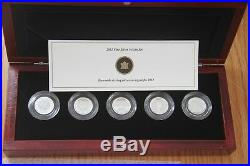 2012 Canada FAREWELL TO THE PENNY Silver 5 historical design coin set Ltd 5000