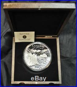 2013 Canada $250 One Kilogram Fine Silver Coin Canada's Arctic Landscape