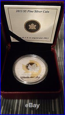 2013 Canada $5 Fine Silver Coin 25th Anniversary of the SML Complete