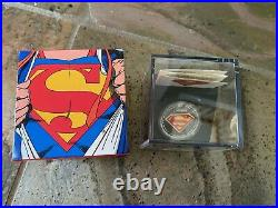 2013 Canadian Mint $20 Fine Silver Coin 75th Anniversary of Superman The Shield