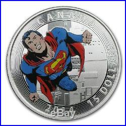 2014 Canada Iconic Superman Comic Covers #419 Proof Silver 3/4 oz Coin