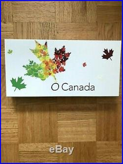 2014 RCM O'CANADA COMPLETE 1/2oz FINE SILVER 10 COIN SET