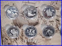 2015 Exploring Canada (12 Silver Coins)