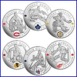 2015 Silver 6-Coin National Hockey League Goalies
