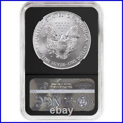 2015-W Burnished $1 American Silver Eagle NGC MS70 FDI WPS Label Retro Core