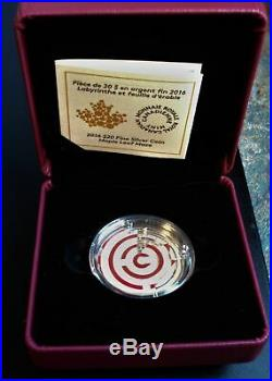 2016 Canada 1 oz Silver $20 Proof Maple Leaf Maze Coin BEAUTIFUL AND UNIQUE COIN