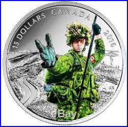 2016 Canada National Heroes Pure Silver Coins Firefighters Paramedics Police