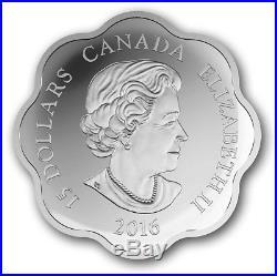 2016 Canada Silver $15 Lunar Lotus Monkey Proof Coin (OGP/COA)