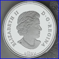 2017 $20 Landscape Illusion Snowy Owl 1 oz 99.99% Pure Silver Color Proof Coin