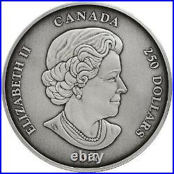 2017 250 Dollar The Canadian Coin Collection. 9999 Silver 1 kg. Coin