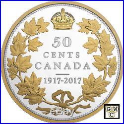 2017 50-cent Fine Silver Coin 100th Anniversary Of The 1917 Half-dollar (18060)
