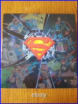 2017 Canada 10 oz. Pure Silver Coin $100 DC Comics Superman's Shield Rare