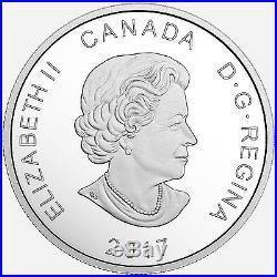 2017 Canada $20 Fine Silver Coin Glistening North Polar Bear