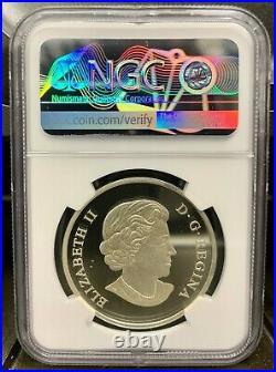2017 Canada $25 Dragon Boat Festival High Relief 1 oz Silver Coin NGC PF 69