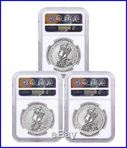 2017 Canada Coin Lore 1927 Designs 1 oz Silver Rev NGC PF70 ER 3-Coin SKU47944
