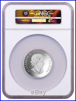 2017 Canada Flora & Fauna 2 oz Silver Proof $30 Coin NGC PF70 UC ER SKU49073