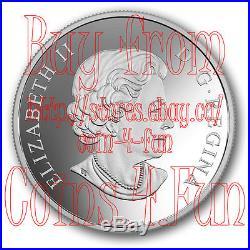 2017 Canada Flora and Fauna of Canada 2 OZ $30 Pure Silver Coin
