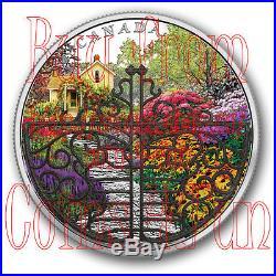 2017 Canada Gate to Enchanted Garden 2 OZ $30 Pure Silver Coin