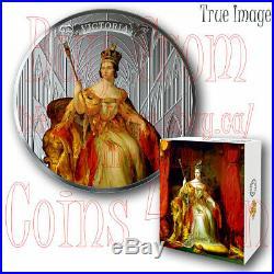2019 Birth of Queen Victoria 200th Anniversary $50 5 OZ Pure Silver Coin Canada