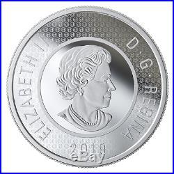 2019 CANADA R&D MULTILAYERED POLAR BEAR 3.5oz. 2$ 99.99% PURE SILVER COIN